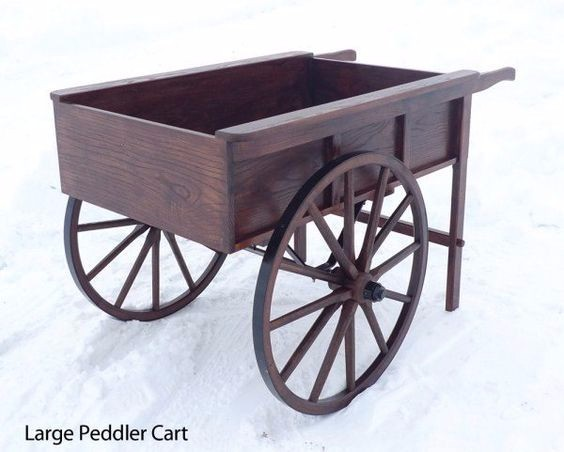Peddler Cart - Wagons & Barrows