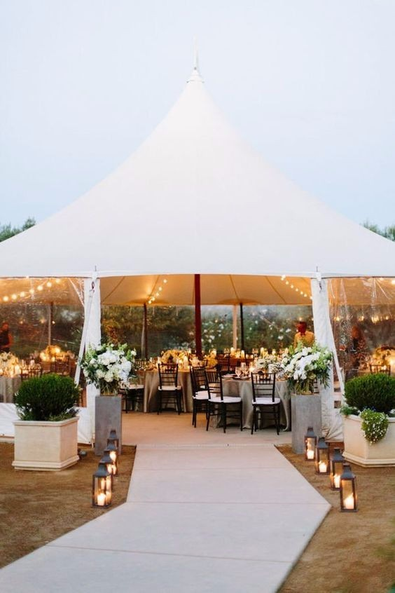 Tent weddings Triangle